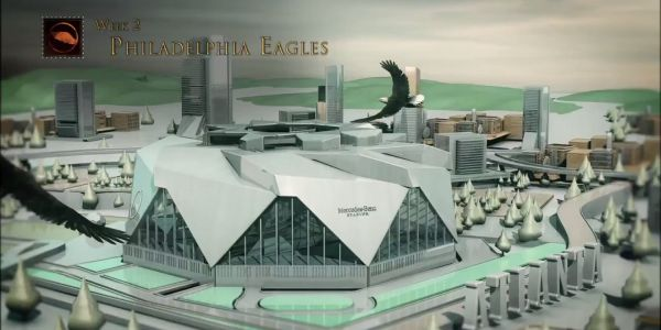 The Atlanta Falcons unveiled their 2019 schedule with a tribute to 'Game of Thrones' and a brutal shot at their biggest rival