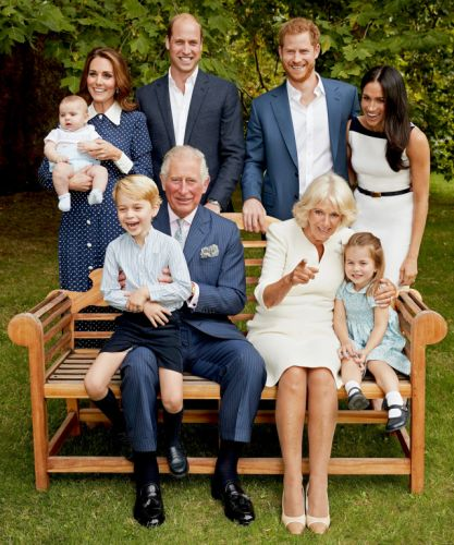 Prince Charles turns 70 with birthday portrait showing three generations of royalty