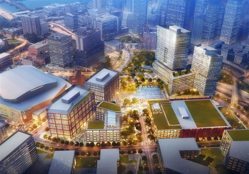 'At the starting line' - URA approves plans for apartments, music venue at former Civic Arena site