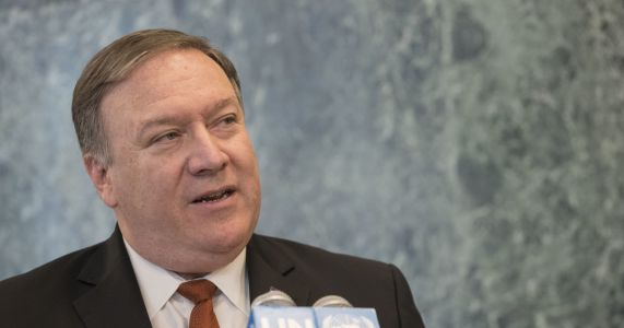 Pompeo: No end to NKorea sanctions until 'denuclearization'
