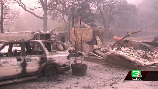 Firefighters lose homes while on front lines of Camp Fire