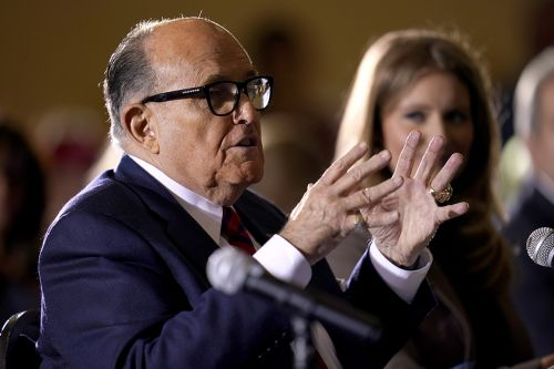 Giuliani denies report that he discussed pardon with Trump