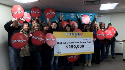 St. Louis Co. Courthouse Workers Share Powerball Prize