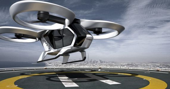 Flying taxis may be years away, but the groundwork Is accelerating
