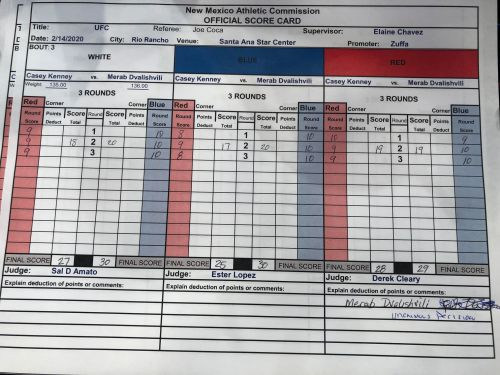 Daniel Rodriguez not surprised he rose to the occasion under UFC Rio Rancho pressure