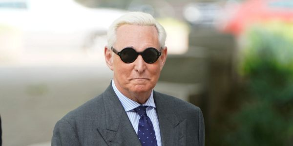 Roger Stone sued by federal government for nearly $2 million in unpaid taxes and interest
