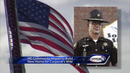 Maine community pitches in to help Cpl. Cole's family build new home