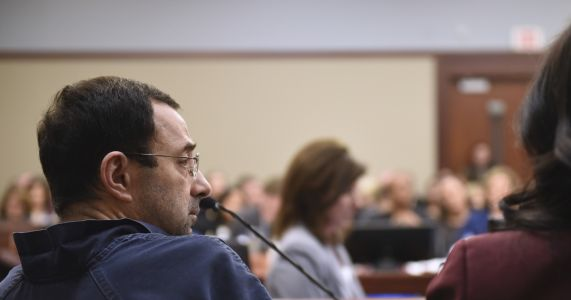 Wieber comes forward to say she was assaulted by Nassar