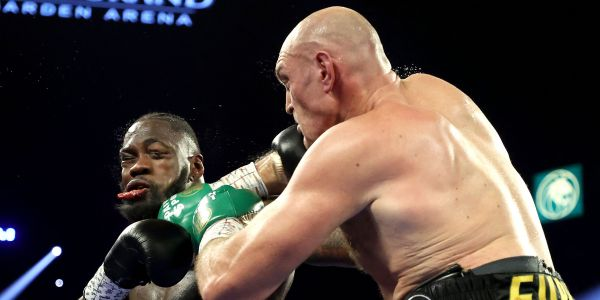 Tyson Fury licked the blood off Deontay Wilder's neck just before his fearsome 7th-round knockout