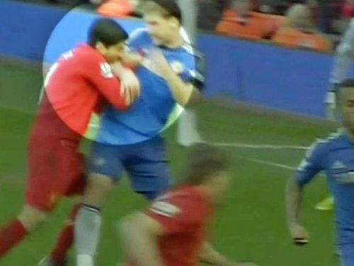 Here are all 3 times Luis Suarez has bitten opponents
