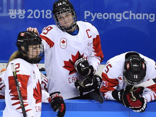 Canada loses in shootout with U.S. in gold-medal women's hockey game