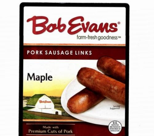 Nearly 50K pounds of Bob Evans' pork sausage links recalled