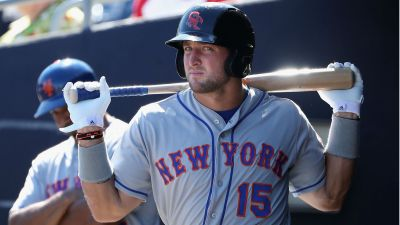 Tim Tebow not invited to Mets' major-league spring training camp