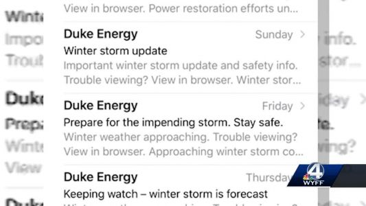 Duke Energy alerts not reaching some customers