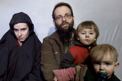 Backpacking family captured by the Taliban freed after five years