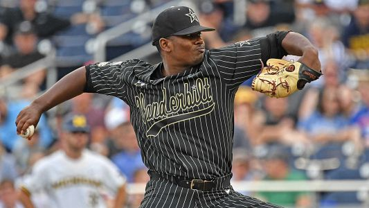 Vanderbilt ace Kumar Rocker's College World Series brilliance, in five stats