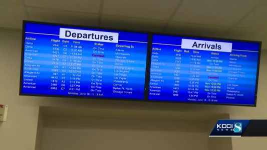 2 American Airlines flights cancelled in Des Moines over technical issues