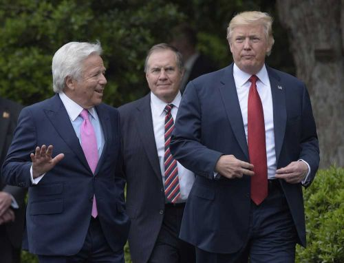 Report: Trump wants Kraft to attend White House visit, despite prostitution case