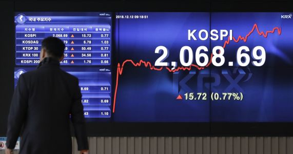 Hopes for US-China trade talks help push Asian shares higher