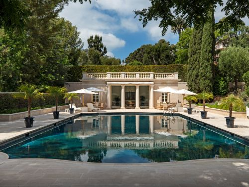 An LA estate that was featured in 'The Beverly Hillbillies' and was once the most expensive home for sale in the US just got a $50 million price cut - take a look at the mansion