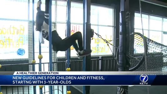New guidelines for children and fitness, starting with age 3