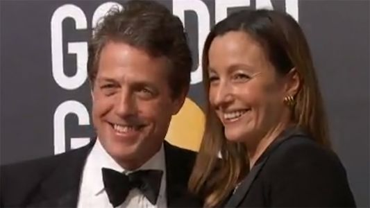 Reports: Actor Hugh Grant marries for the first time