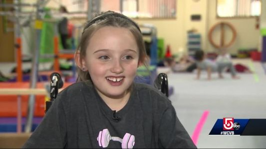 Gym owner helps girl with brittle bone disorder achieve dream