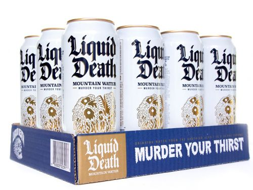 Liquid Death, the punk rock canned water startup that went viral after raising $1.6 million in May, is in talks to raise up to $20 million in Series A funding