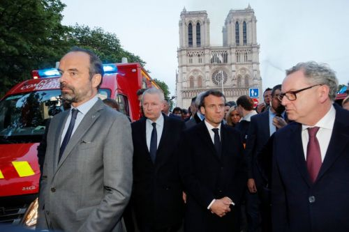 The Notre Dame Fire Is Tearing France Apart