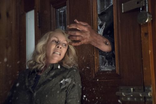 'Halloween' is a great throwback to the original movie 40 years later and Jamie Lee Curtis is a badass