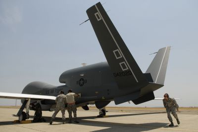 US Air Force drone crashes near Mt. Whitney, starts small wildfire