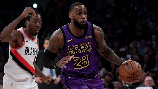 LeBron James passes Wilt Chamberlain for 5th on all-time scoring list