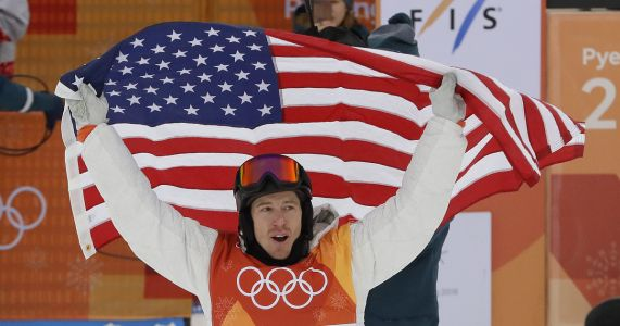 Shaun White wins America's 100th Winter Olympics gold medal