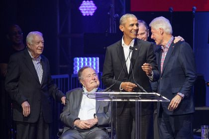 Concert Featuring Former Presidents Raises $31M For Hurricane Relief