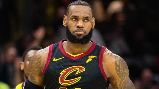 LeBron James was told of Erin Popovich's death prior to live interview, TNT says