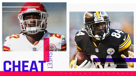 2018 Fantasy Football cheat sheet, rankings, sleepers, team names, draft advice