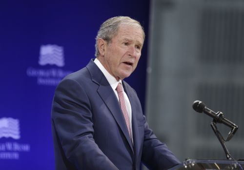 George W. Bush: 'Bigotry seems emboldened' in US