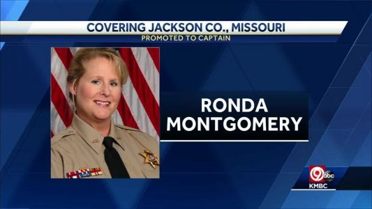 Jackson County sheriff promotes first female captain
