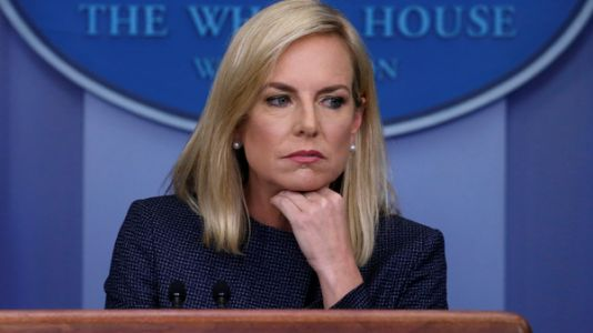 'Shame!': Protesters Shout At DHS Head Kirstjen Nielsen, Eating At Mexican Restaurant