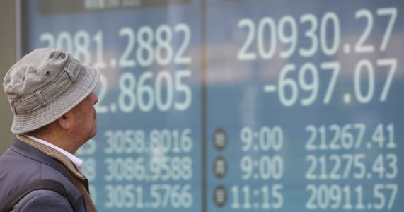 US stocks open lower on concerns over global growth