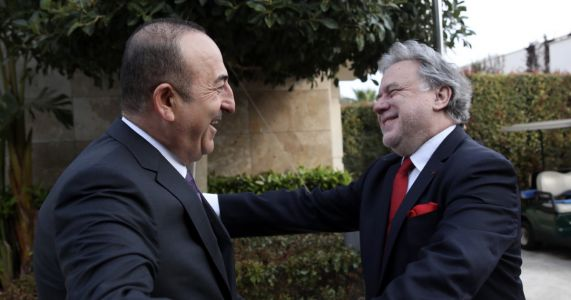 Turkish, Greek ministers meet with 'positive agenda'