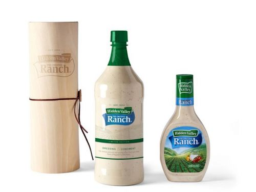 Hidden Valley is selling a giant bottle of ranch dressing that's more than 7 times bigger than the standard size