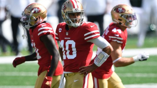 Jimmy Garoppolo injury update: 49ers QB could miss time after ankle sprain