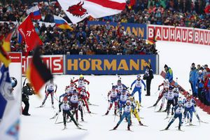 Dahlmeier takes Germany to victory at biathlon WCup