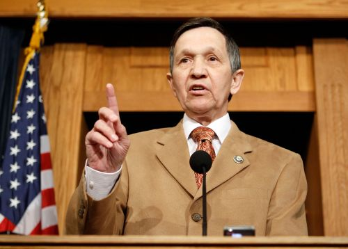Kucinich was paid to speak alongside genocide deniers and pro-Assad lobbyists