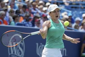 Halep lets match point slip away, Bertens rallies for title