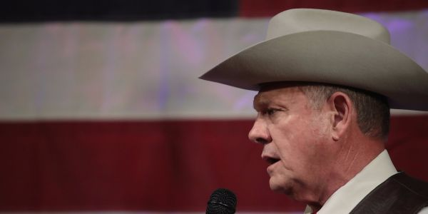 Republican National Committee drops Roy Moore amid the Alabama Senate candidate's sexual misconduct scandal