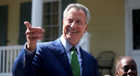 De Blasio turns back to New York after his longshot campaign