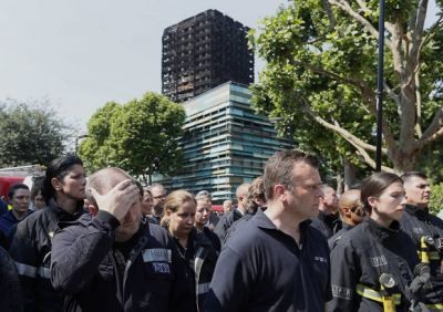 The Latest: London fire: 600 buildings have similar cladding