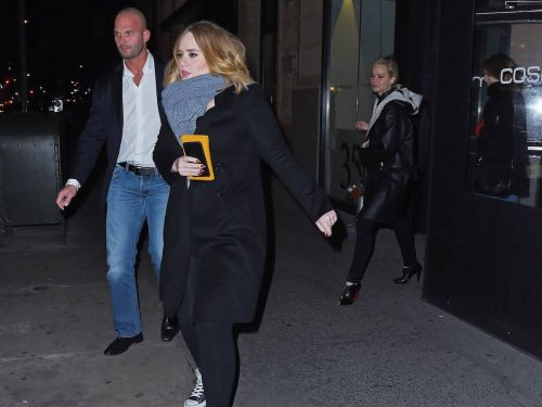 Adele and Jennifer Lawrence played drinking games during a wild night out at a New York gay bar, and there are videos
